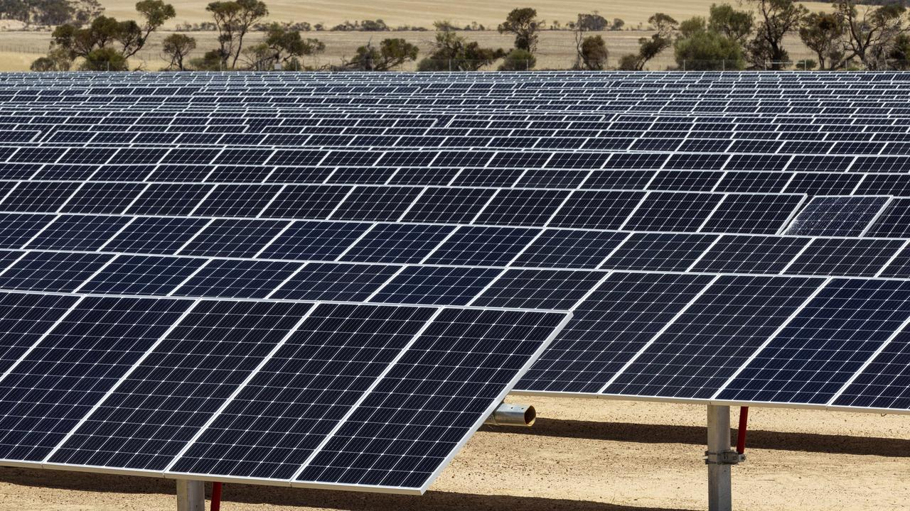 RENEWABLE ENERGY: More than 200 jobs are expected to be created as part of the Barcaldine Renewable Energy Hub. Photo: file