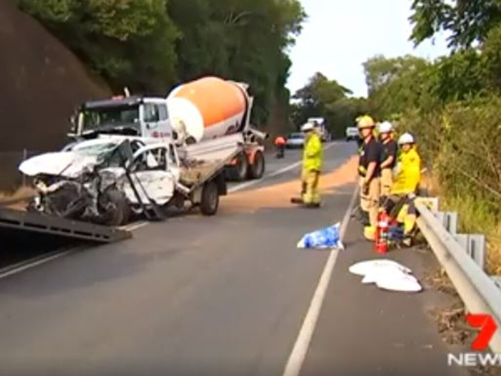 Anthony Walsgott is out of a coma and back at home after surviving a horrific crash at Landsborough Maleny Rd.