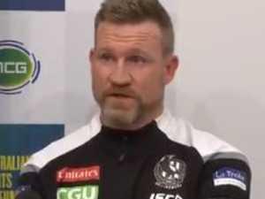 Coach addresses uncomfortable accusation