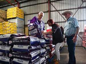 100 Bundy farmers helped in 'green drought'