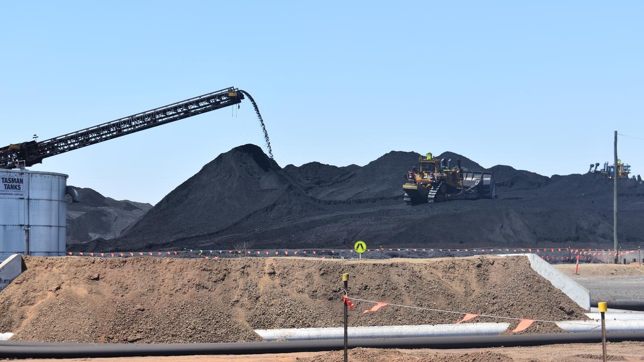 The Byerwen mine site in the Bowen Basin
