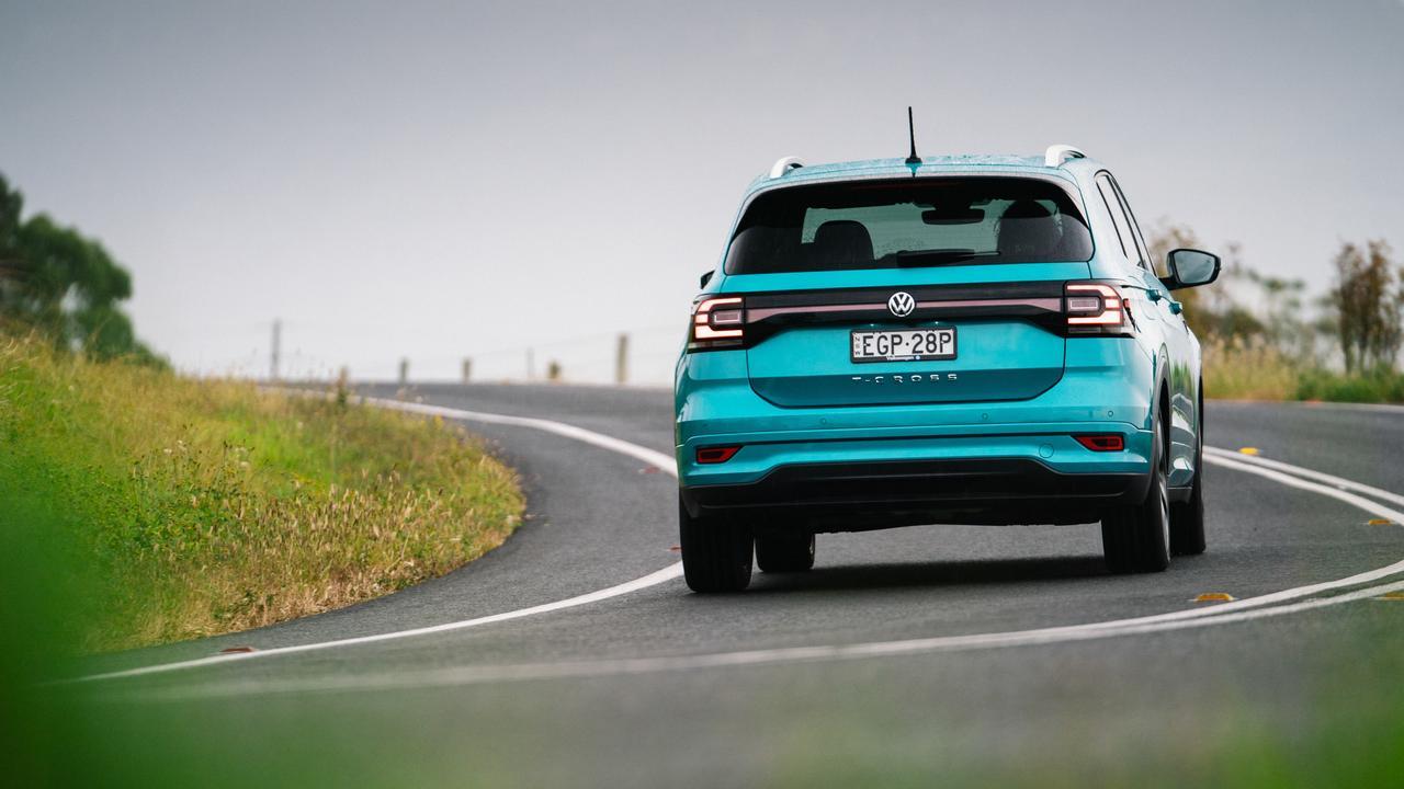 The 2020 model Volkswagen T-Cross 85TSI Style.