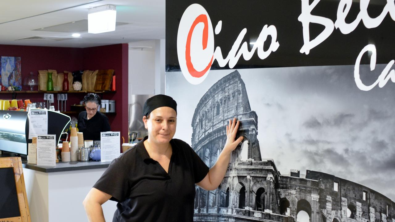 ITALIAN TWIST: Daniela Macheda and Sabrina Scarpulla have filled a gap by opening Ciao Belli in Lismore Central Shopping Centre.