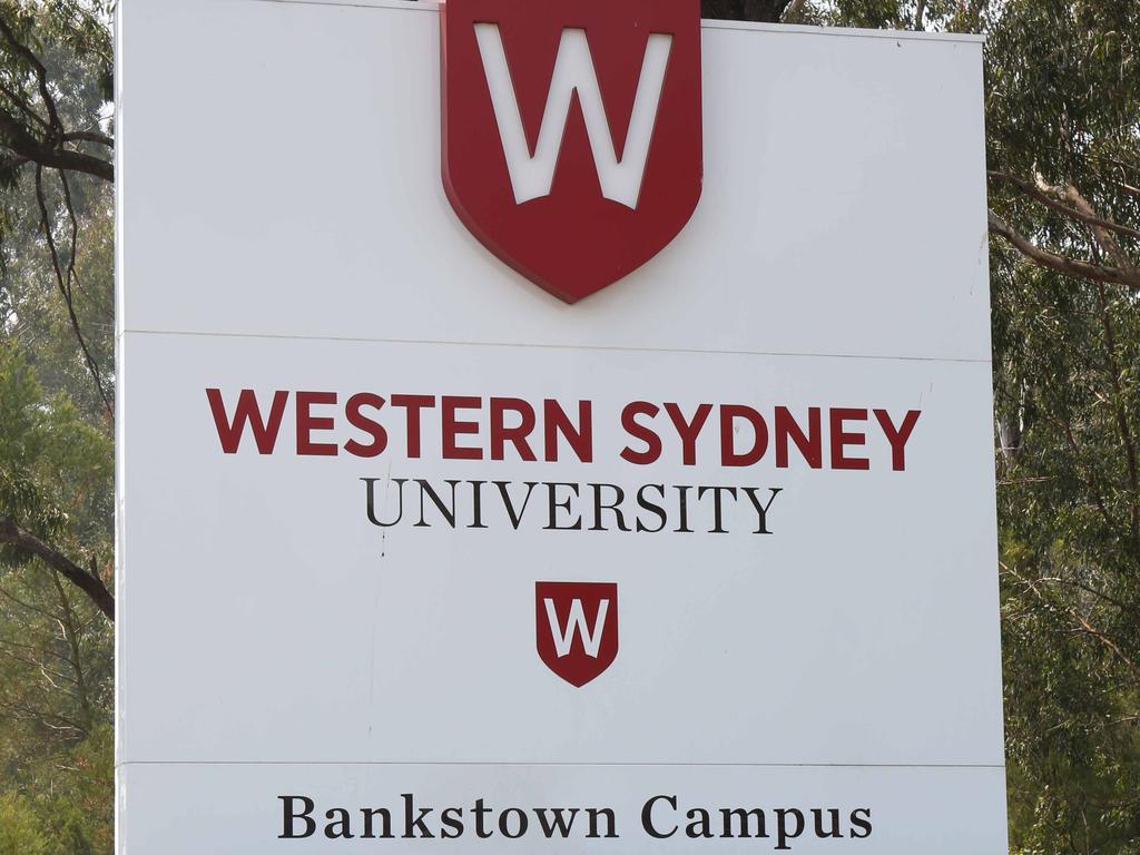 Western Sydney University.