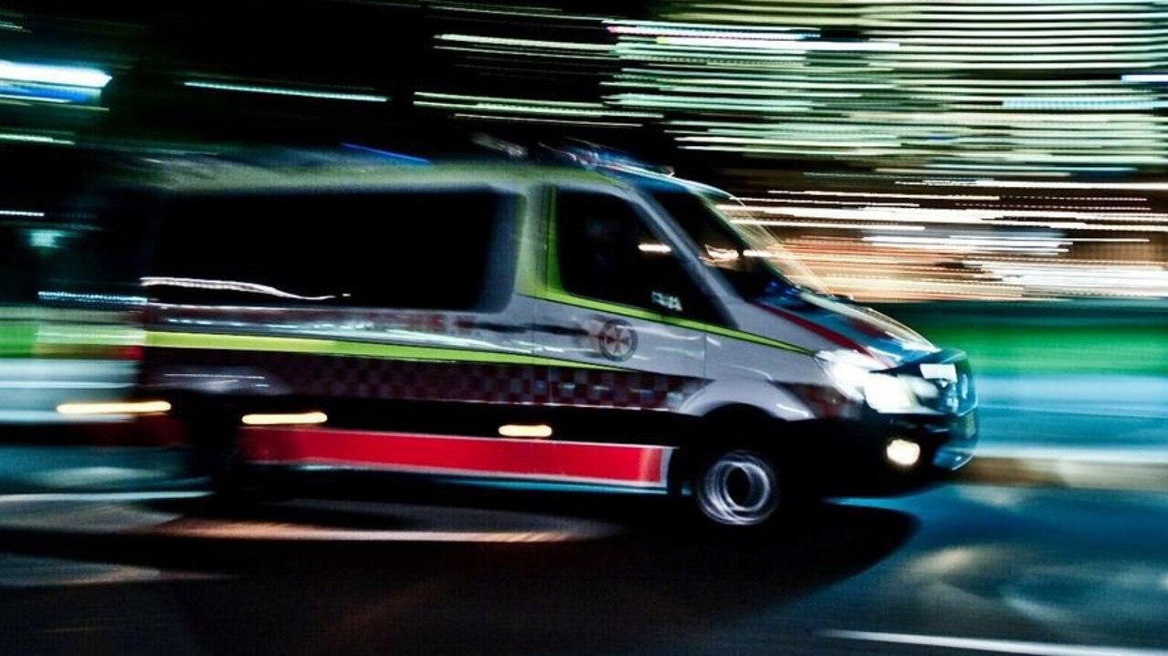 Paramedics were called to a two vehicle crash at Branyan last night.