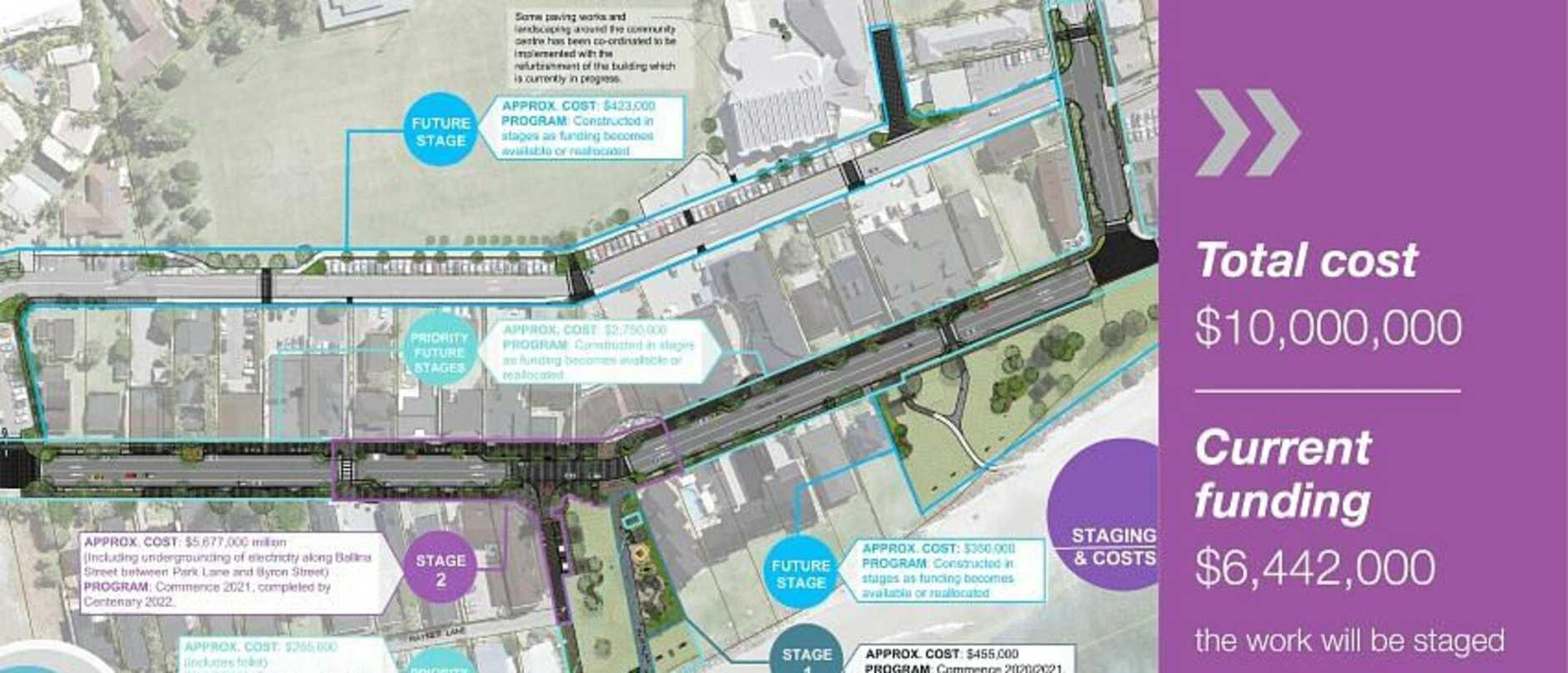 Lennox Village Vision draft concept plan.