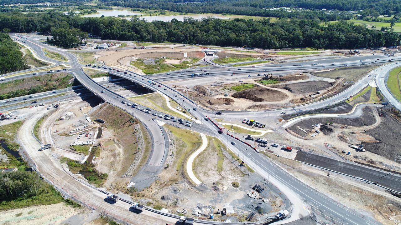 According to the association, major projects like the Bruce Highway Caloundra Road to Sunshine Motorway upgrade ($800m) went to overseas-owned head contractors. Photo Patrick Woods / Sunshine Coast Daily.