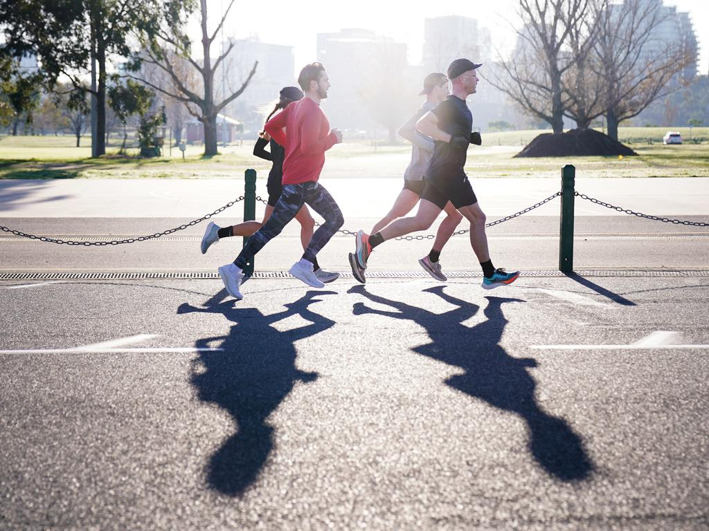 People who are exercising can spread the virus further. Picture: AAP Image/Michael Dodge