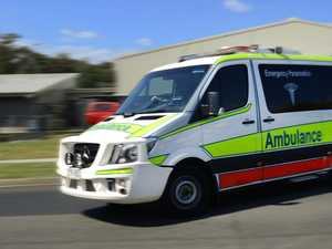 Two hospitalised after overnight truck crash in Goomeri