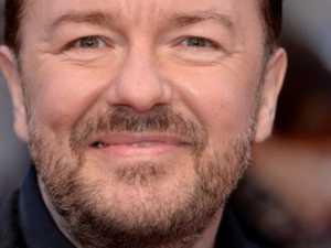 Gervais skewers cringe-worthy celeb vid