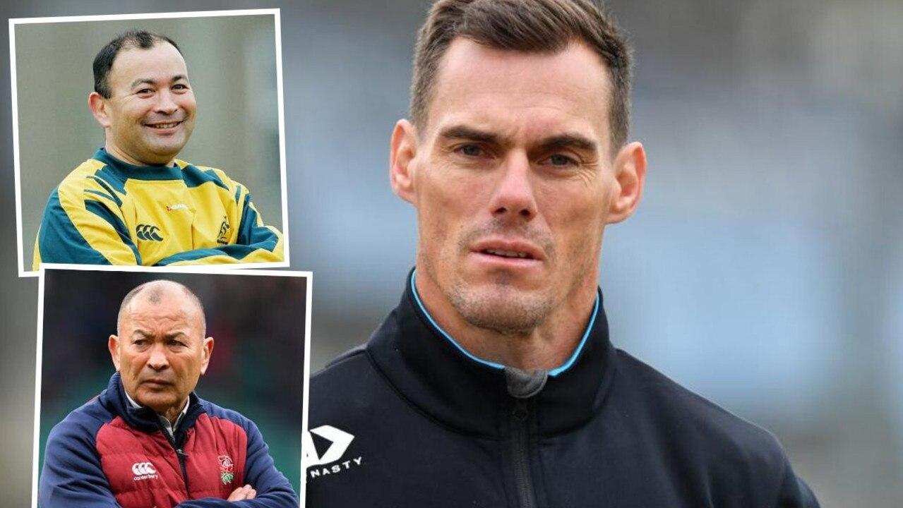 Rugby union coaching guru Eddie Jones has been linked to the Cronulla coaching job as the incumbent, John Morris, endures a tough season.