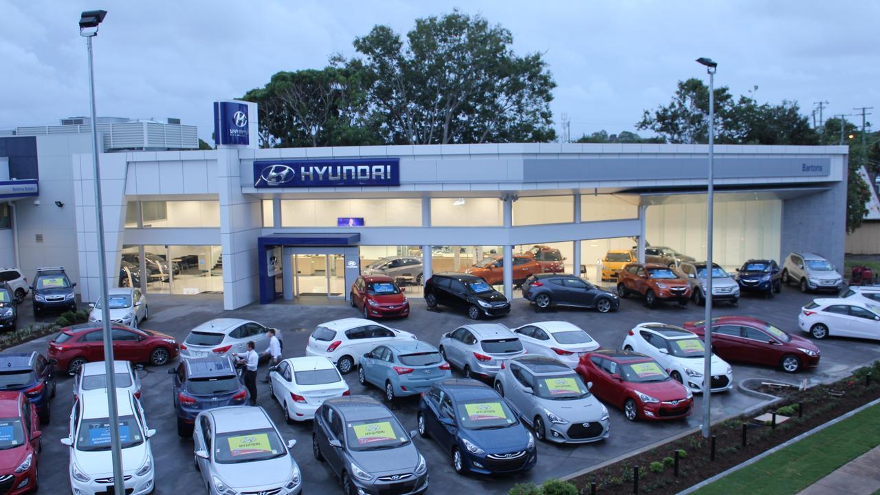Bartons Motors Wynnum location.