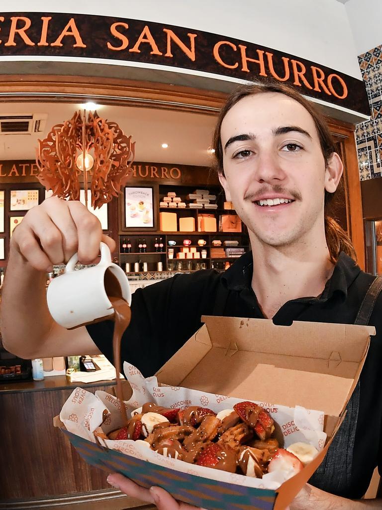Duty manager Flynn Corcoran. Photo Patrick Woods / Sunshine Coast Daily.