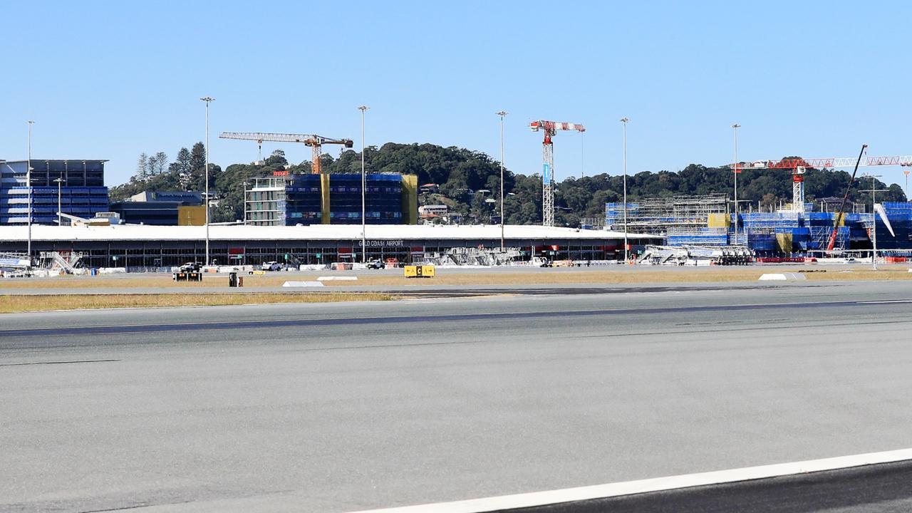 An empty Gold Coast Airport. Photo: Scott Powick Newscorp