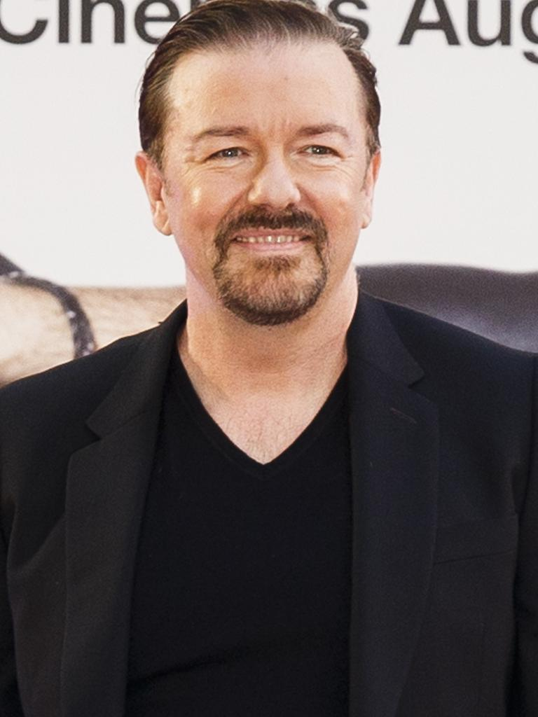 Gervais is known for mocking his Hollywood peers. Picture: Tristan Fewings/Getty Images