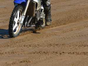 Young boy thrown from dirtbike after hitting anthill