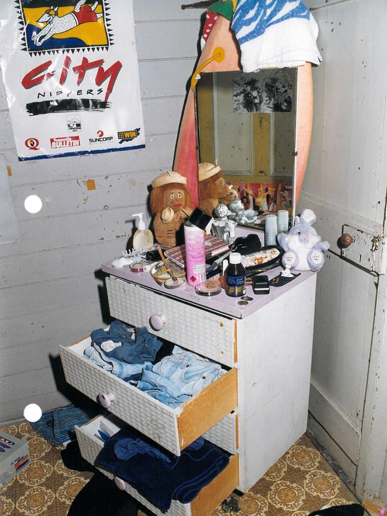 Rachel Antonio's bedroom from just after she went missing in 1998.