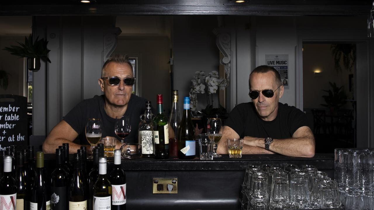 James Reyne and Mark Seymour rescheduled their Never Again tour for 2021.