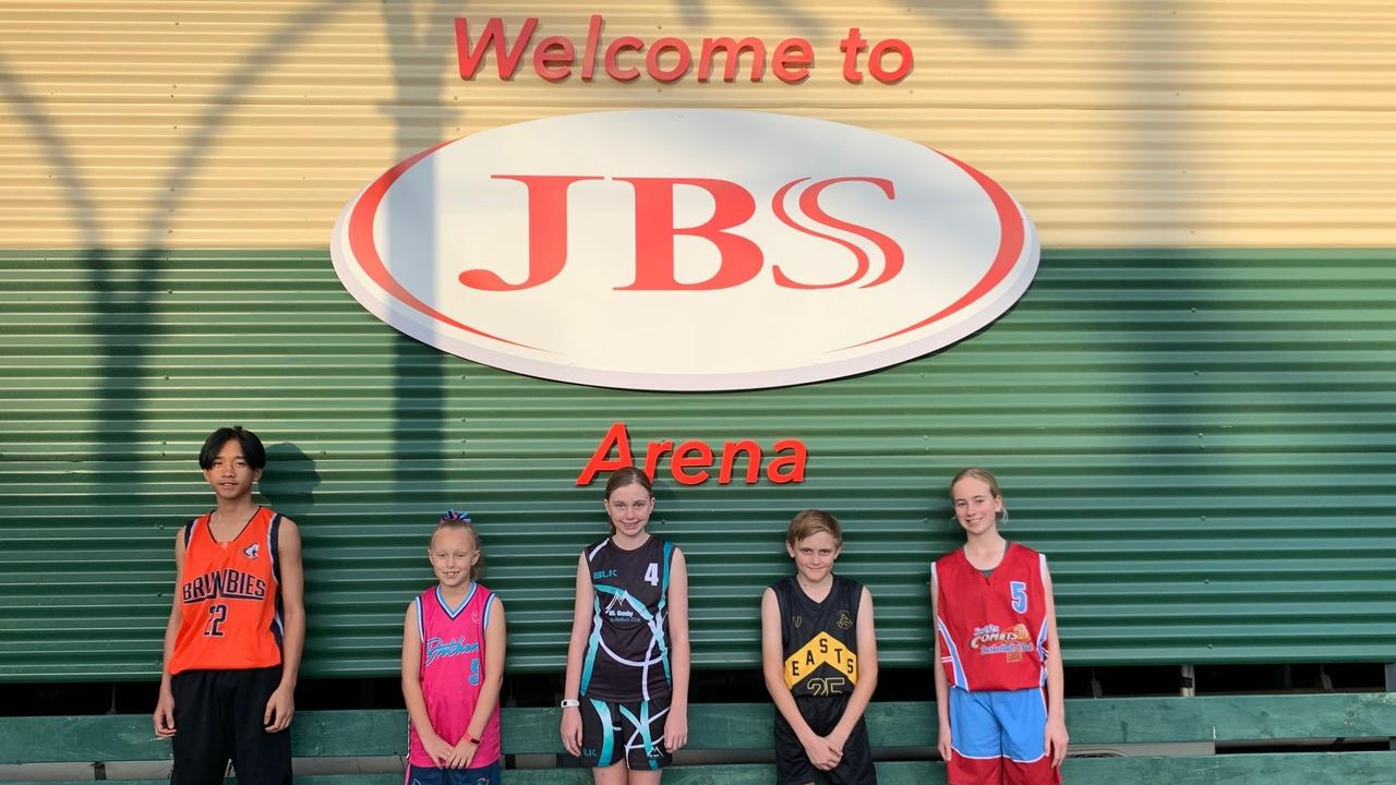 Junior basketballers eager to play in next month's Ipswich competition - Jasper Cruz (Springfield Brumbies), Bethany Bartels (Brothers), CJ Lesson (Mt Crosby), Lucy Hamilton (Swifts Comets) and Loki MacPherson (Easts Tigers).