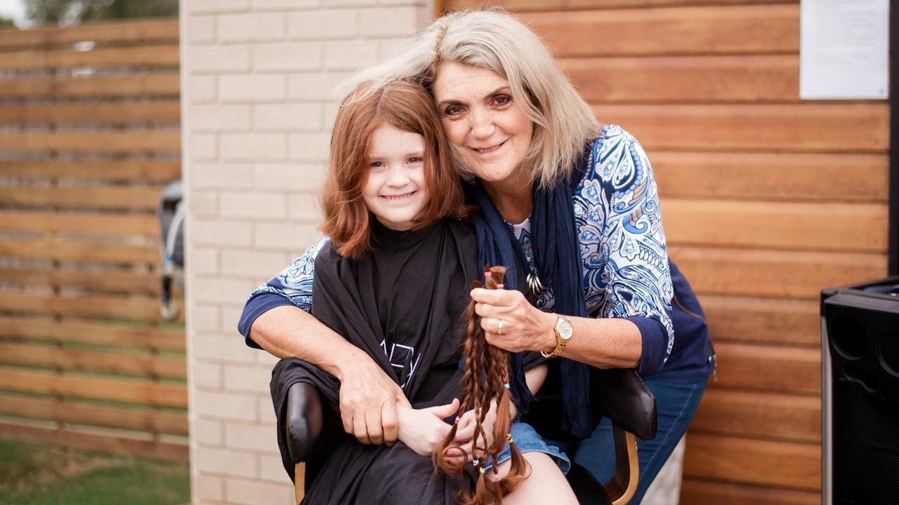 Ashlyn Wells with her Nanny.