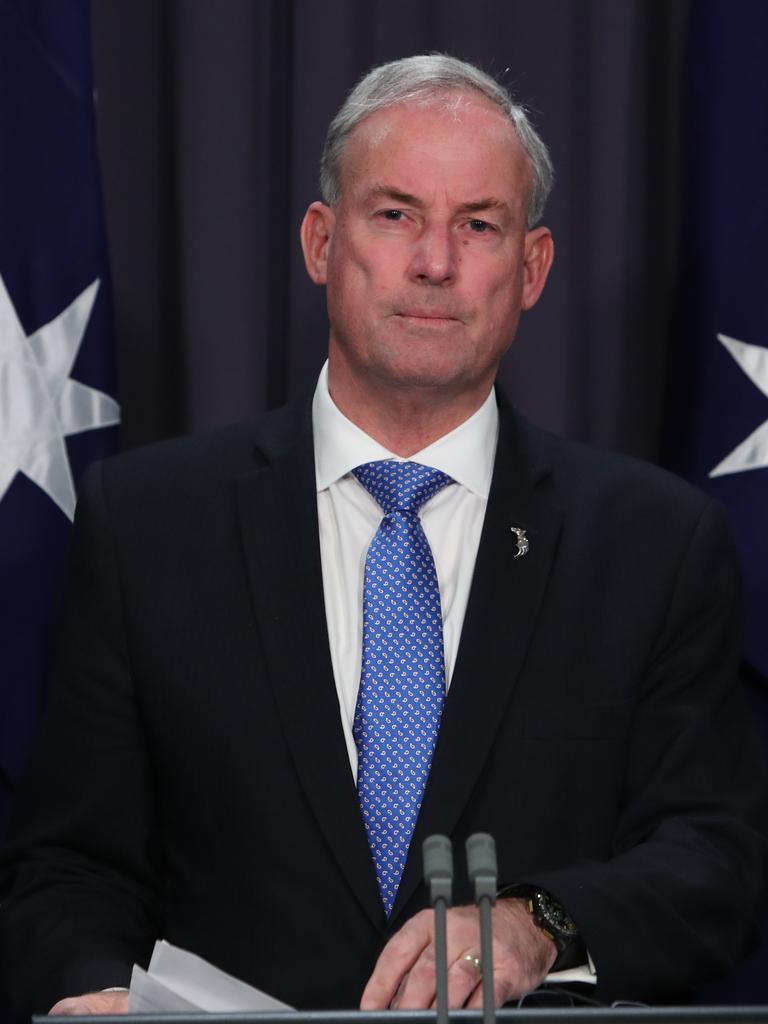 Minister for Aged Care and Senior Australians Richard Colbeck.