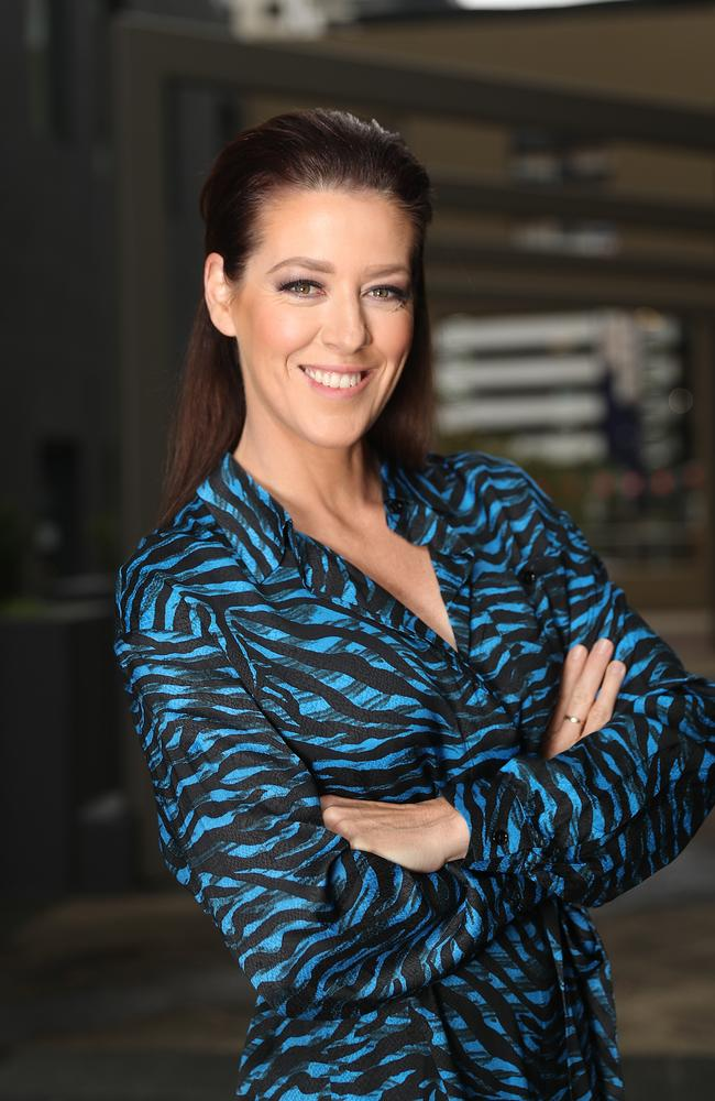 Self-confessed foodie Gorgi Coghlan is hosting the Taste Dinner Revolution Cookalong. Picture: Alex Coppel