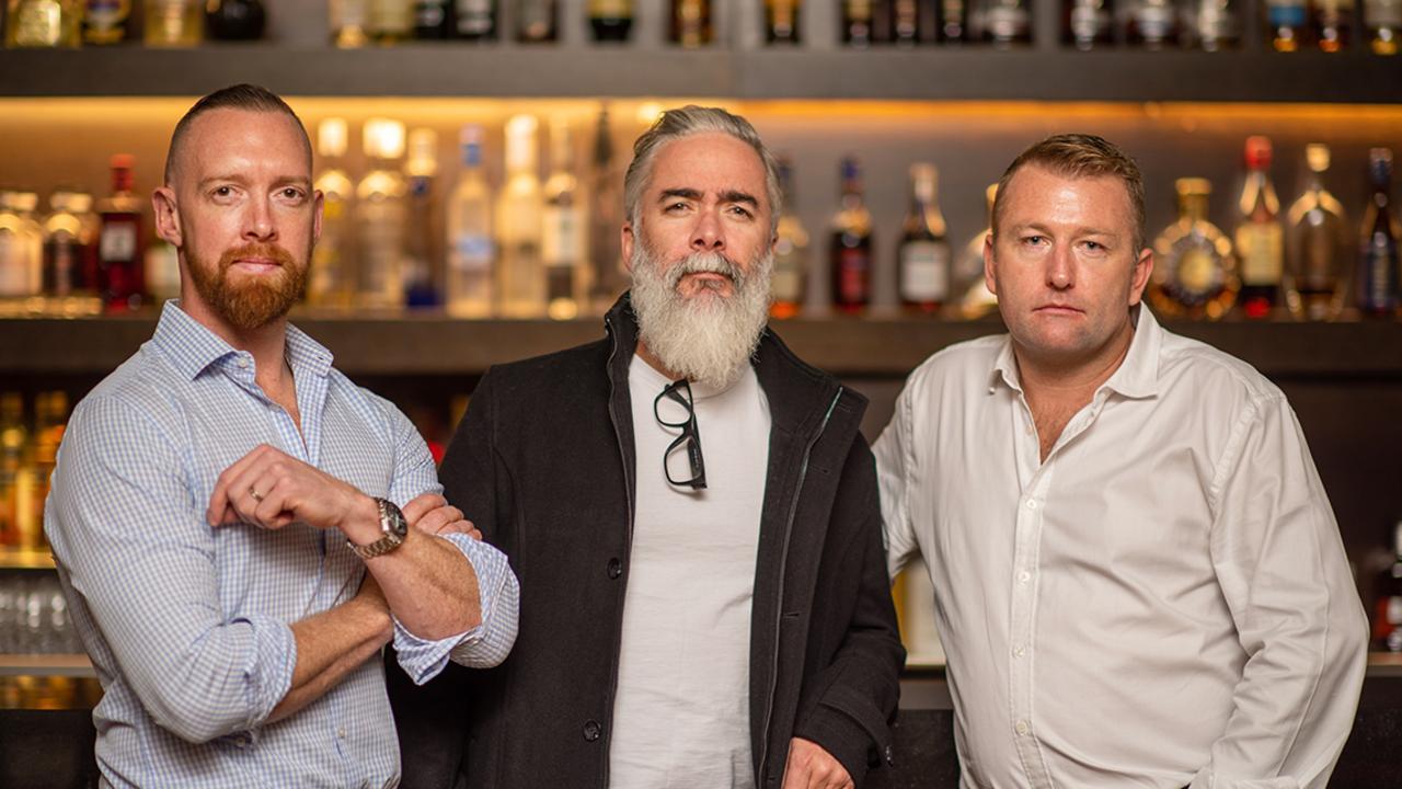 Curatif founders Matt Sanger, Jeremy Spencer and Sam Lane.