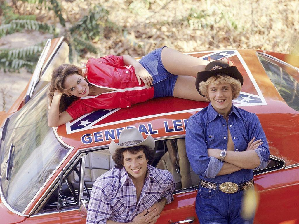 Re-runs of the Dukes of Hazzard could also be pulled over the show's use of Confederate flags. Picture: Supplied
