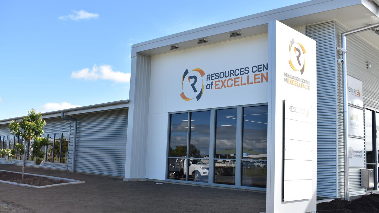 The Resources Centre of Excellence. Picture: Melanie Whiting