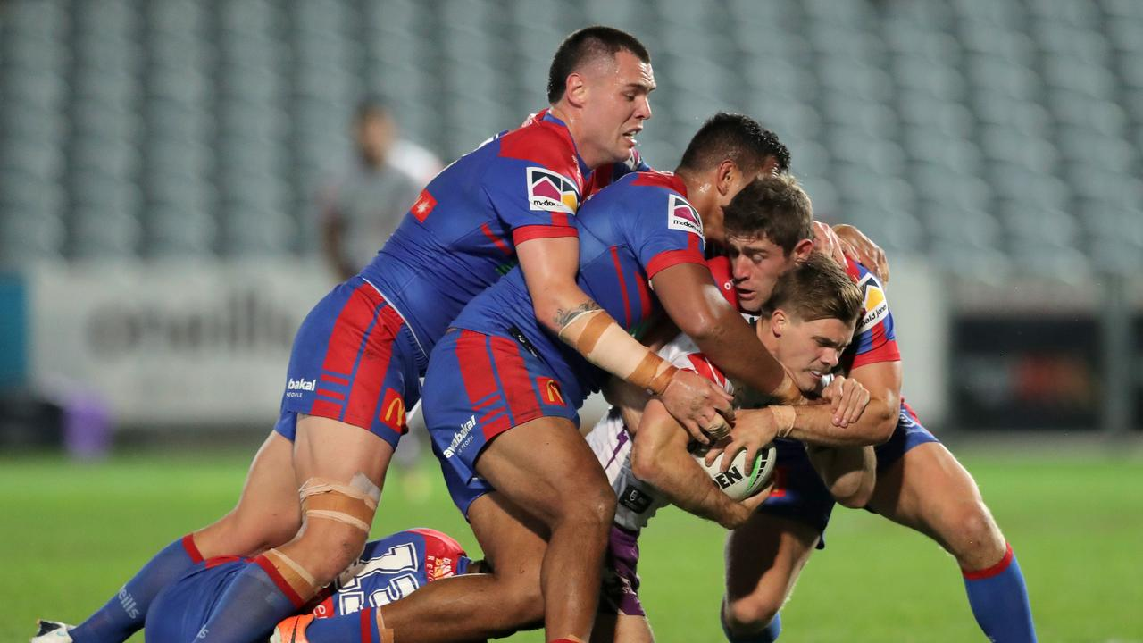 The Knights couldn't adapt as well as Melbourne. Photo by Matt King/Getty Images.