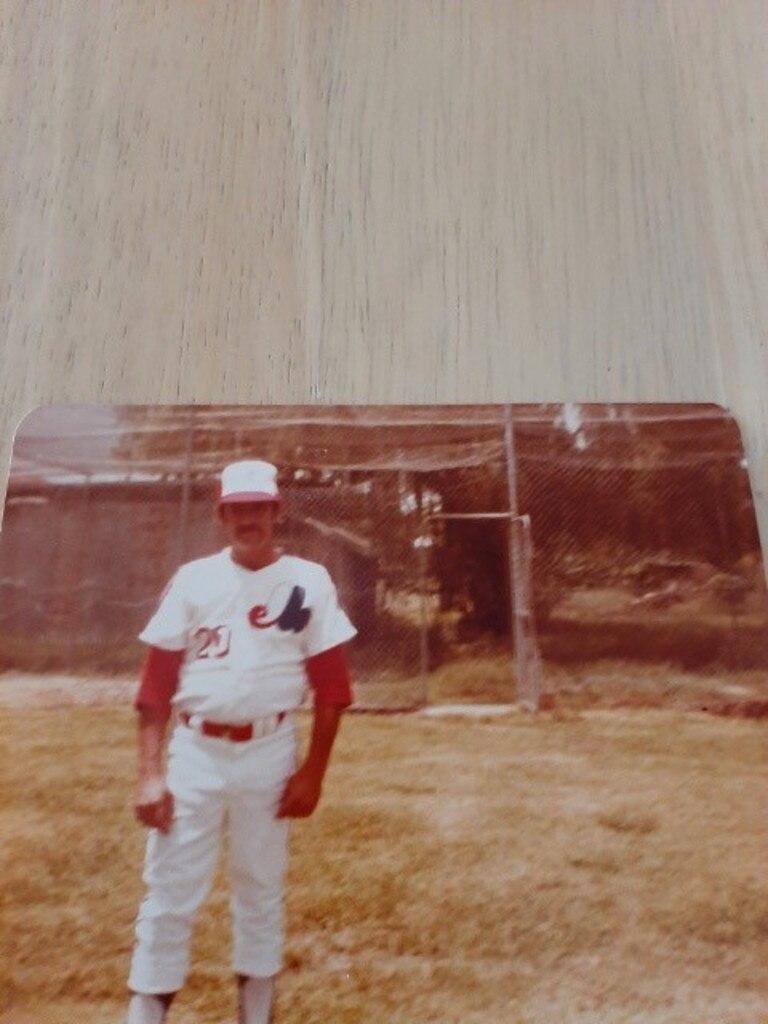 Former Ipswich Musketeers baseballer Bruce Ogden.