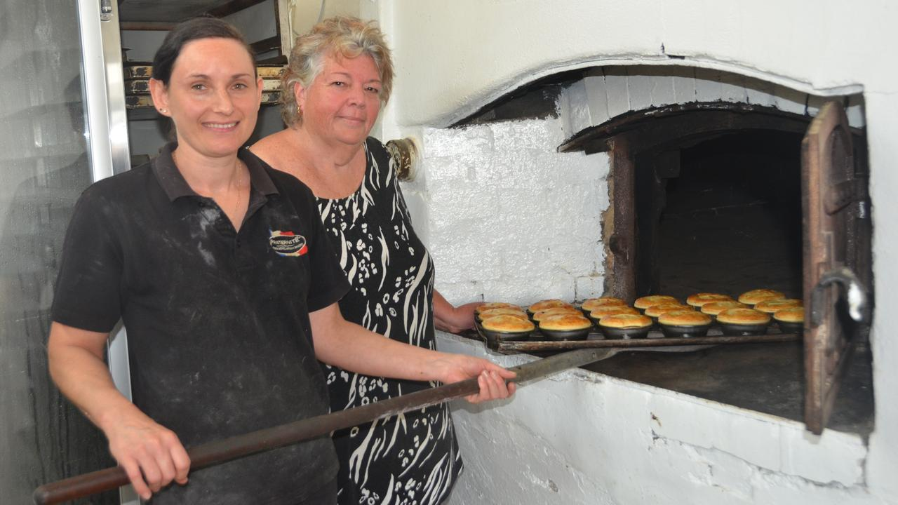 BEST OF THE BEST: Blackbutt Bakery owner Roberta Anson and her pie chef Franka Mills. Photo: Madeline Grace