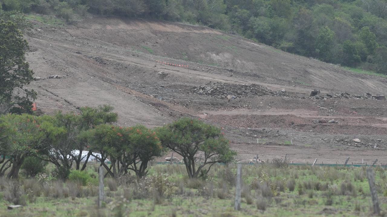 Work continues on the North Lismore Plateau development.
