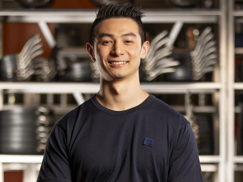 MasterChef contestant Reynold Poernomo who is a hot contender. Picture: Supplied