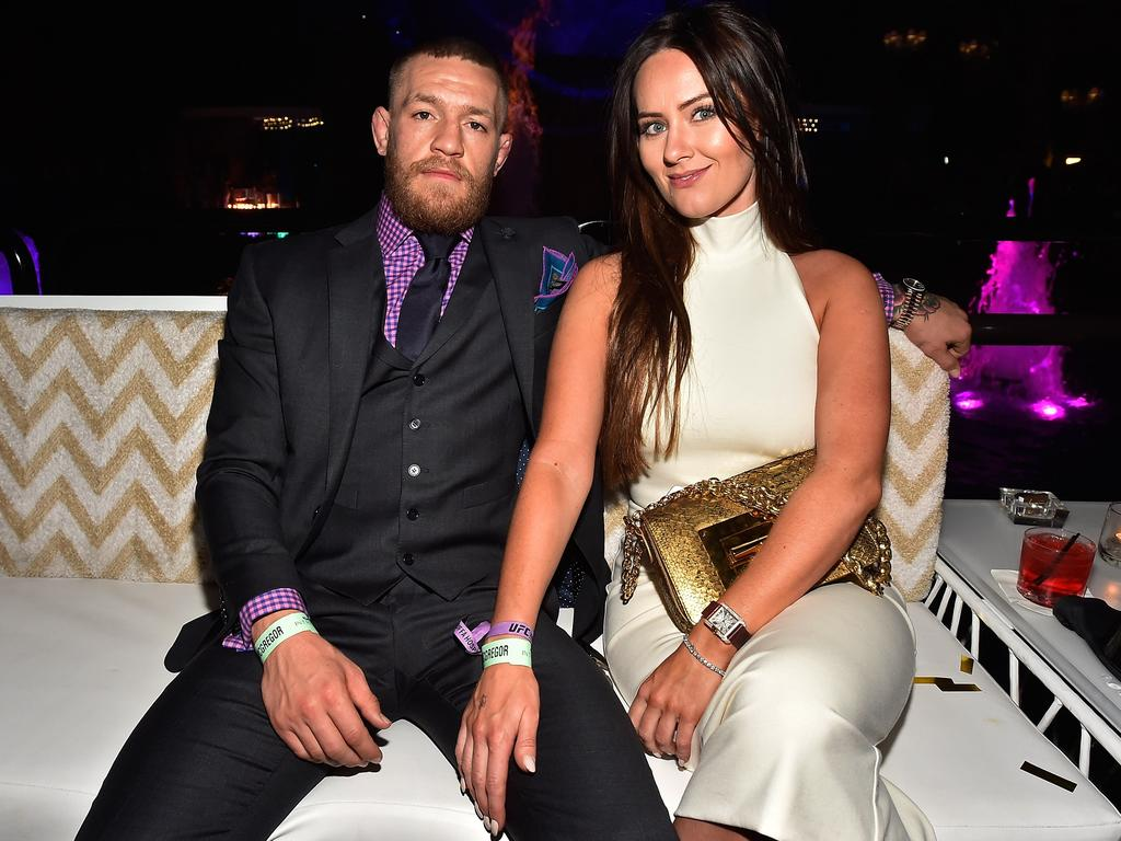 Conor McGregor and Dee Devlin have plenty of places where they can settle down.  Picture: David Becker/Getty Images