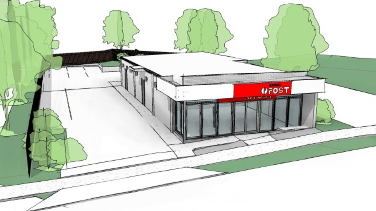 The Goodna Post Office is expected to be constructed by mid-August.