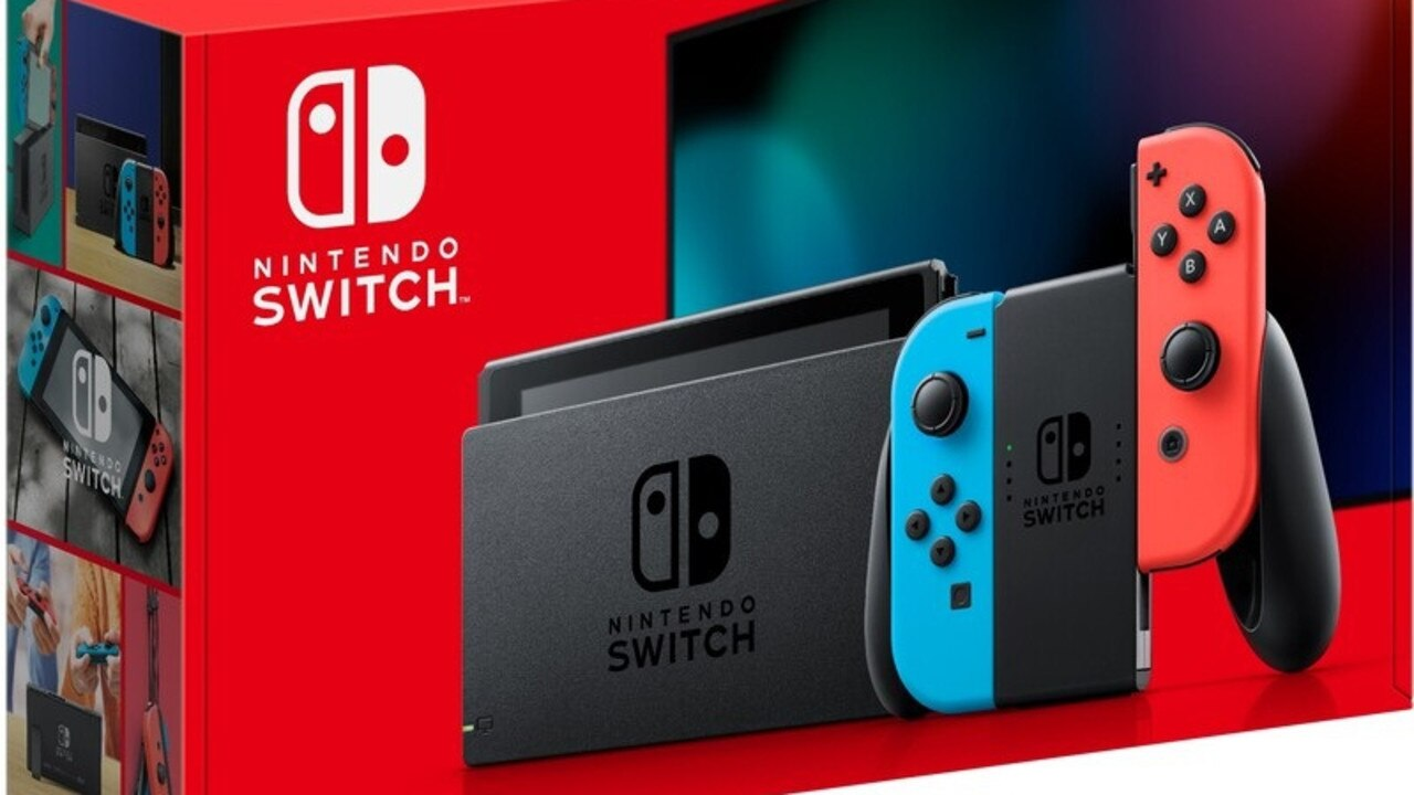 The Nintendo Switch Neon will be $449 at the Big W toy sale this week.