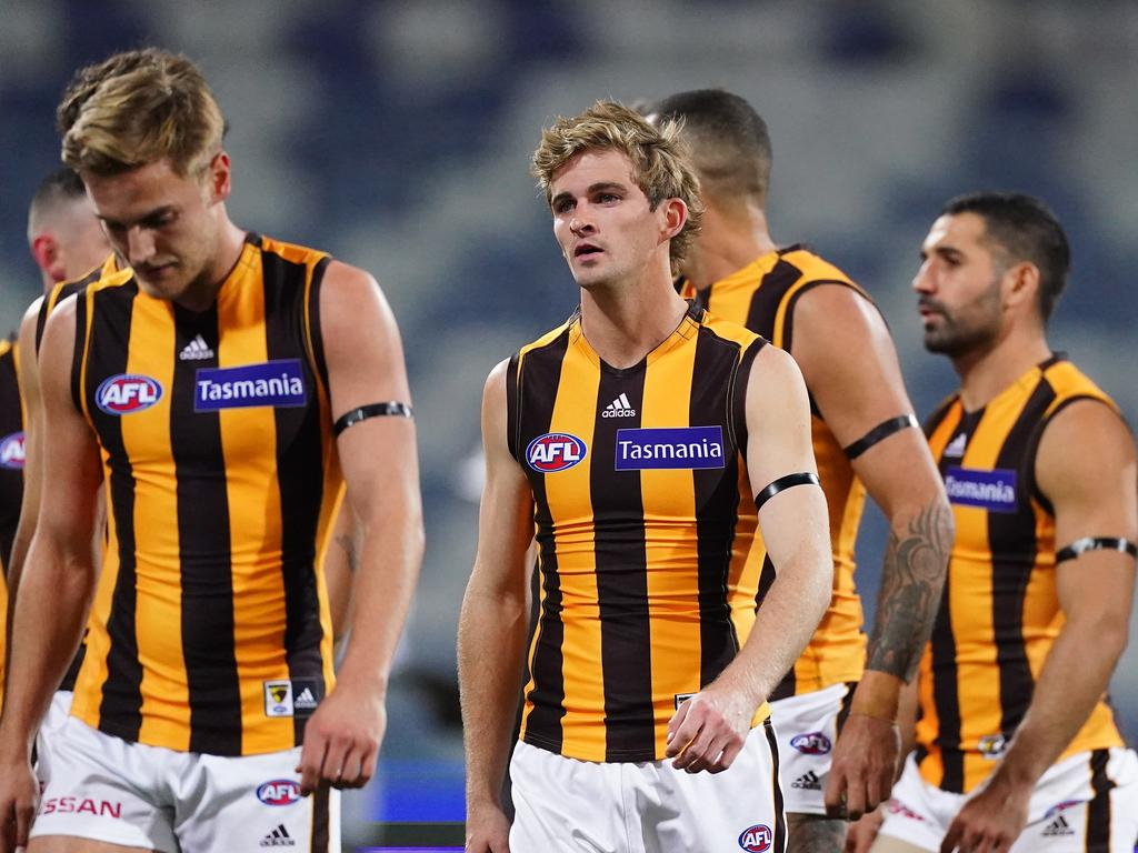The Hawks are sitting in 13th spot on the AFL ladder.