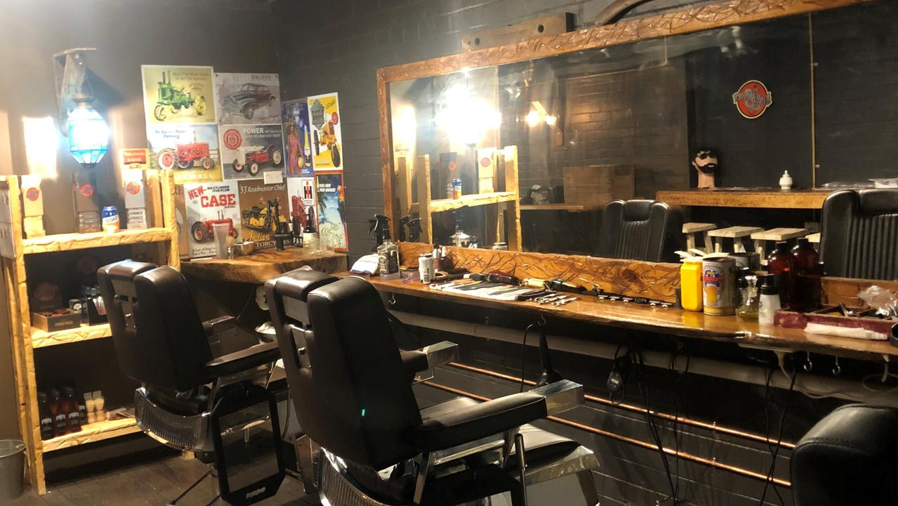 Half Cut Clothing Co owner has opened the new tailoring business in collaboration with Kyogle's Half Cut Barber Shop.