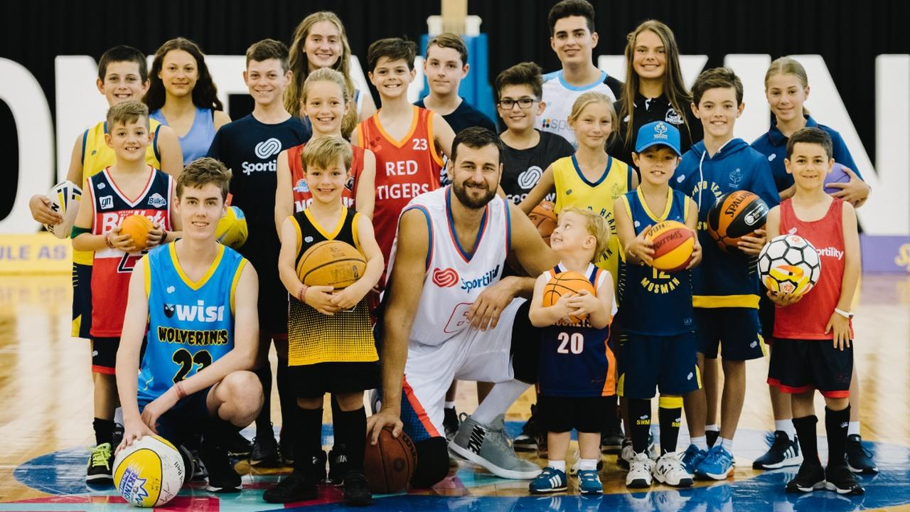 Australian basketball superstar Andrew Bogut is part of a special jersey design initiative.