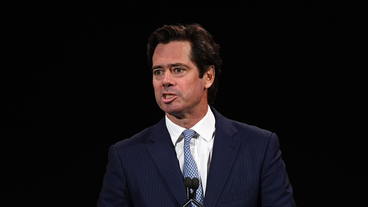 AFL boss Gillon McLachlan. Picture: Getty Images