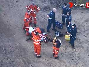 Woman rescued after 15m mineshaft fall