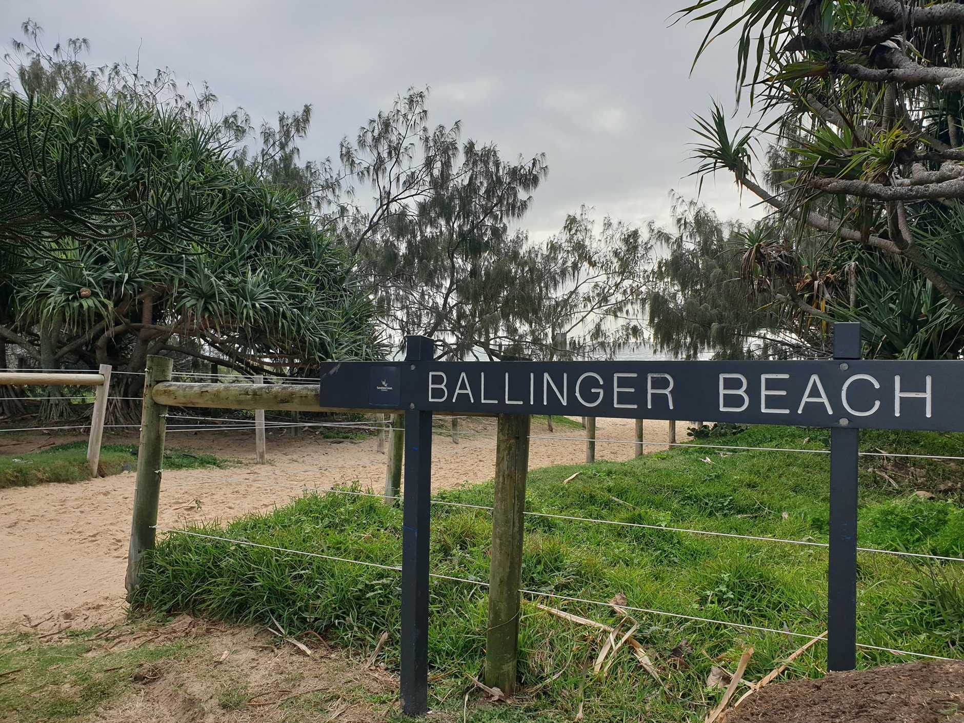A man was rushed to hospital after almost drowning at Currimundi this morning.