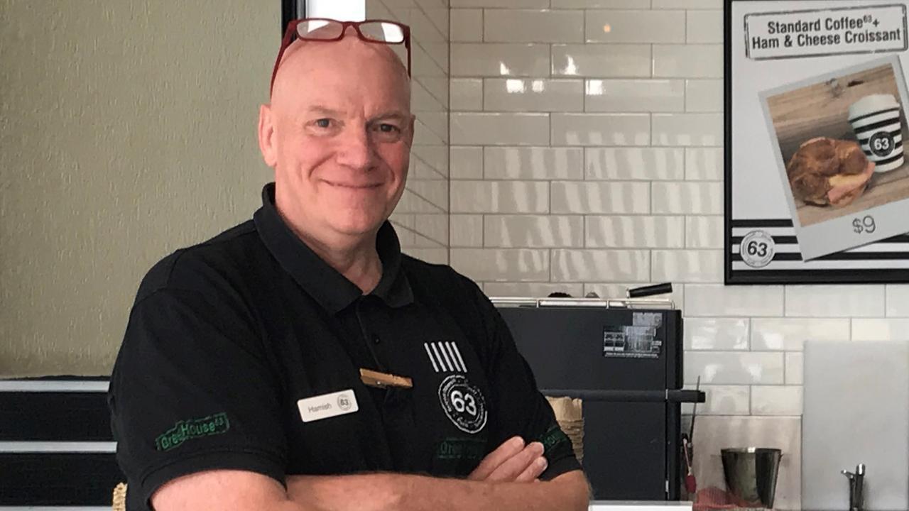 Cafe 63 founder Hamish Watson.