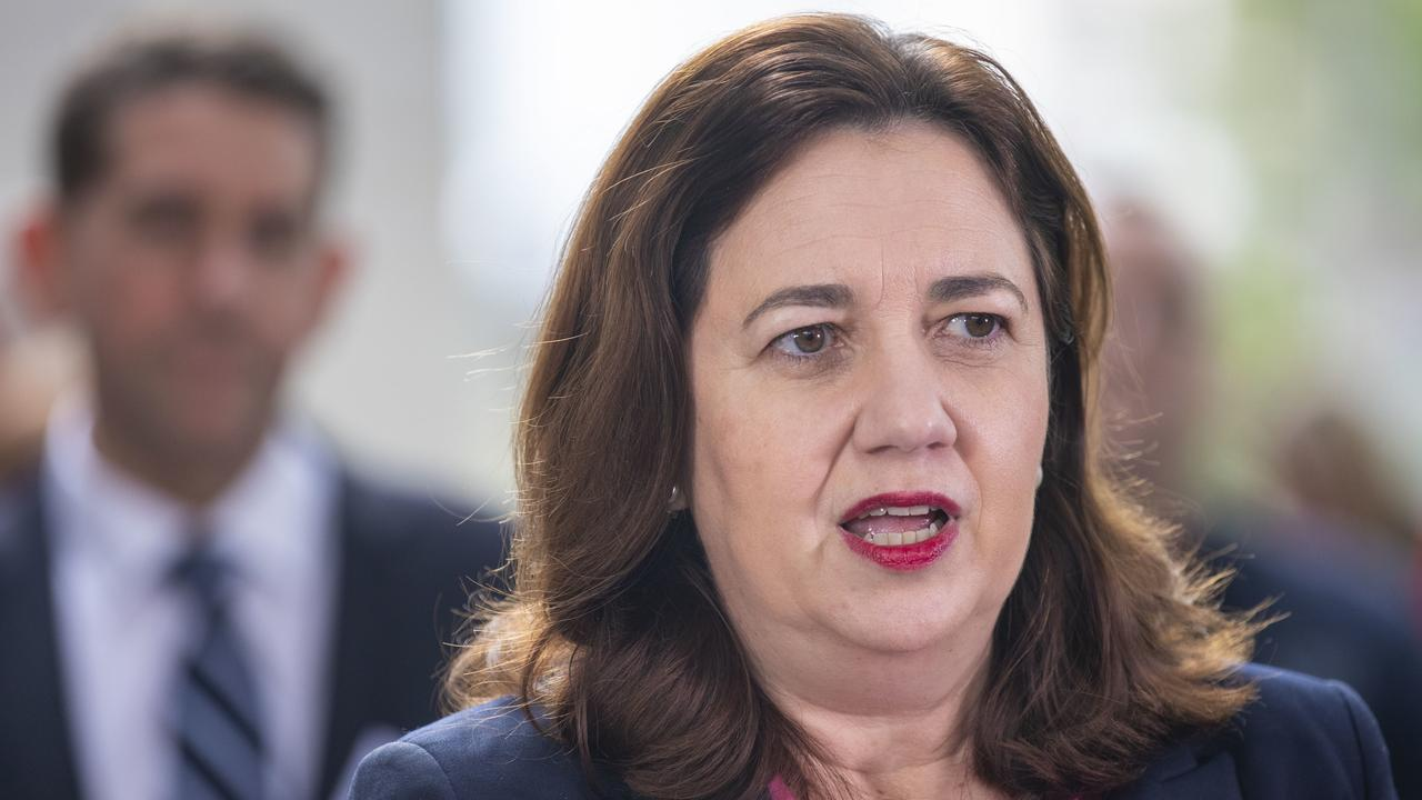 Premier Annastacia Palaszczuk says a public service pay freeze will save Queensland about $500 million over the financial year. Picture: Glenn Hunt