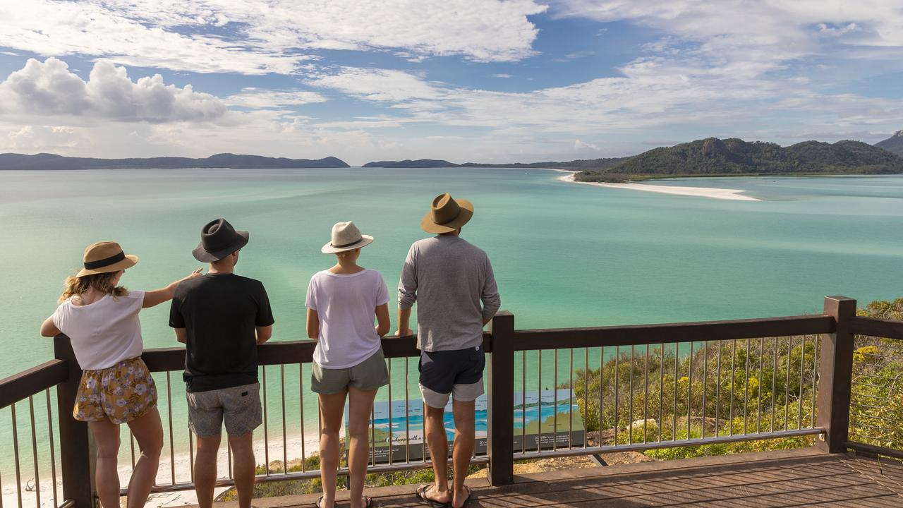 The Whitsundays topped the list of travel destinations on Wotif.com. Picture: Tourism Whitsundays