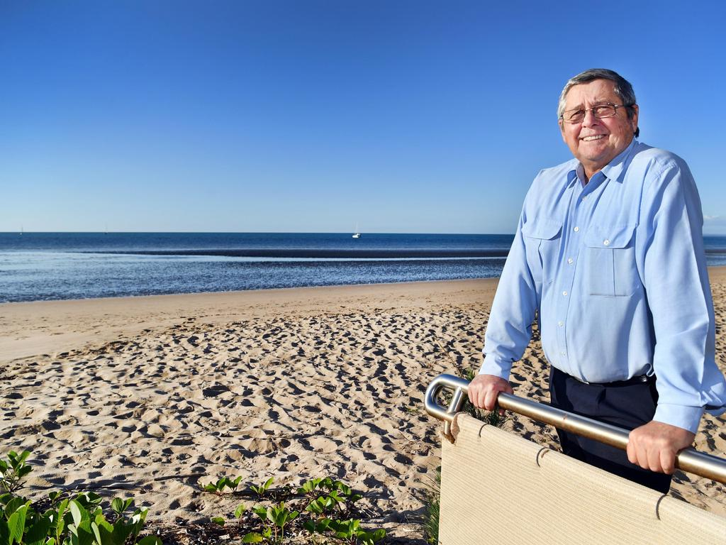 State Member for Hervey Bay Ted Sorensen will retire from politics at the October election. Photo: Alistair Brightman