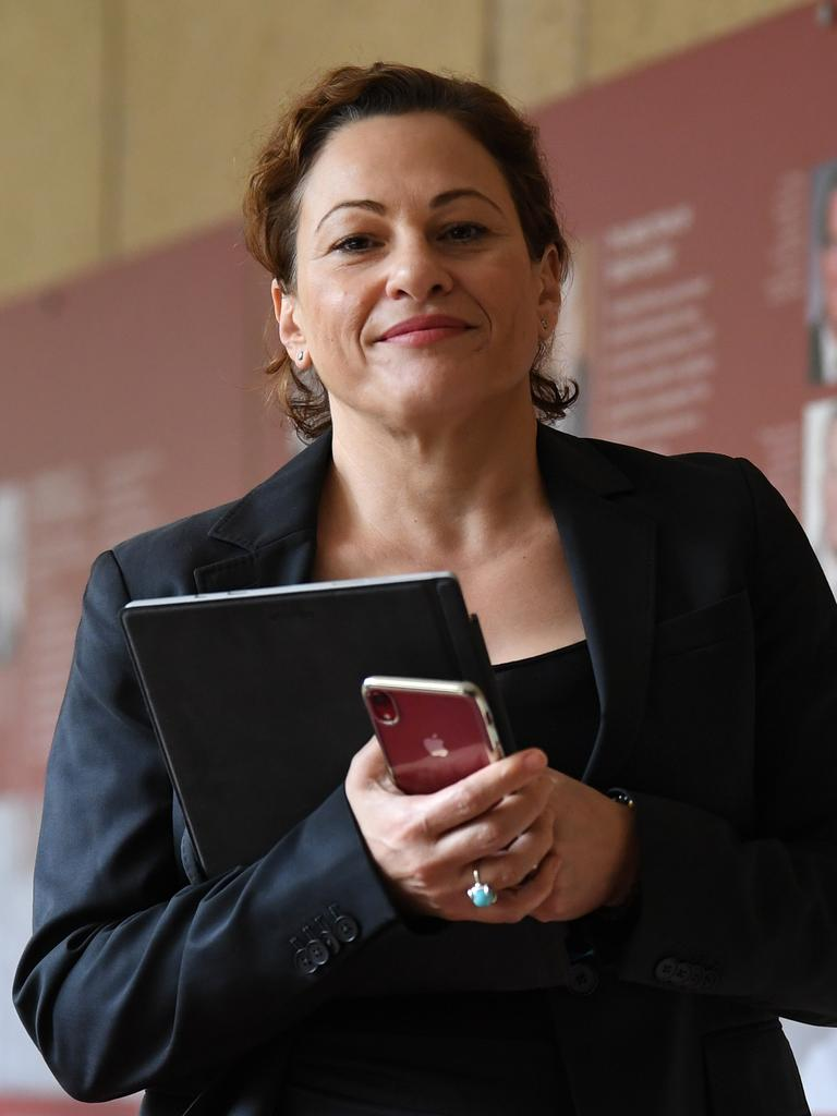 Queensland's Member for South Brisbane Jackie Trad. (AAP Image/Dan Peled)