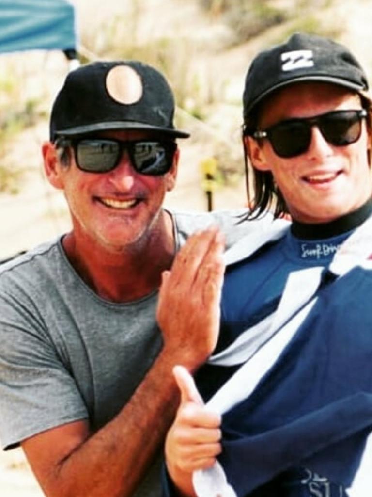 Brendan Margieson and his son Micah.