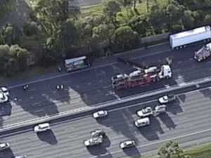 Monash reopens after horror fatal truck smash